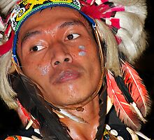 Dayak - People Indigenous to Borneo Island by Charuhas  Images
