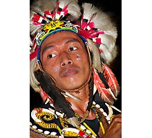 Dayak - People Indigenous to Borneo Island Photographic Print