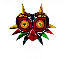 Majoras Mask Nothing to fear but time itself by Gettodaze