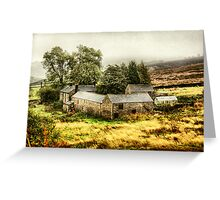 """up ont' moor"" Greeting Card"