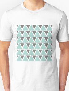 Tribal Triangles (blue) T-Shirt