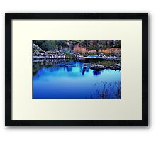 """Last Light"" Framed Print"