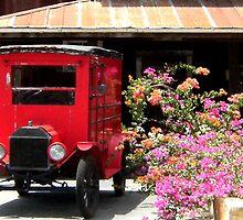 Vintage postal van by Shiva77