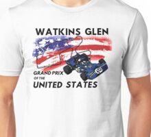 Jackie Stewart at Watkins Glen Unisex T-Shirt