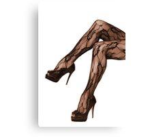 Legs 5 Canvas Print
