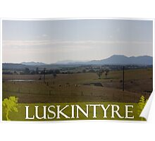 The Hills Of Luskintyre Poster