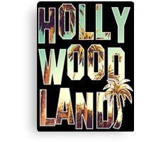 Hollywood Land! Canvas Print
