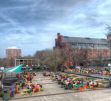 Memorial Union Happy Hour by victor kilman