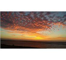 Bay Area Delta Sunset Landscape Photographic Print