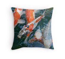 nishikigoi  [japanese carp] Throw Pillow