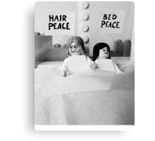 Bed-In Canvas Print