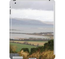 Lough Swilly with snow capped Donegal Hills - Donegal Ireland  iPad Case/Skin