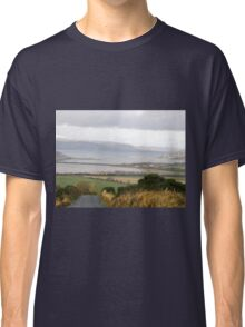 Lough Swilly with snow capped Donegal Hills - Donegal Ireland  Classic T-Shirt