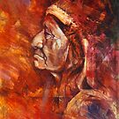 "Red Cloud - ""He promised to take our land..."" by Rik Ward"