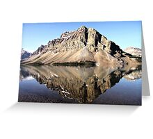 Crowfoot Mountain, Banff National Park Greeting Card
