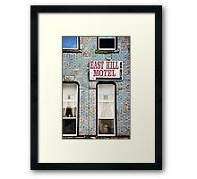 The Missing Motel Framed Print