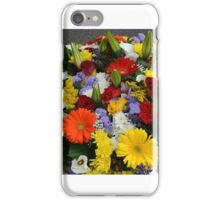 Bucket full of bouquets iPhone Case/Skin