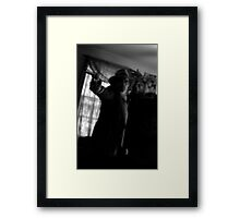hold it right there....  sweetheart Framed Print