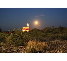 Bad Moon Rising Photographic Print