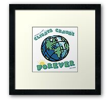 Climate Change Forever Framed Print