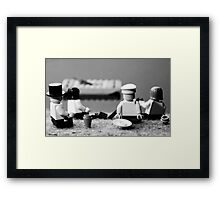 By the Marne River Framed Print