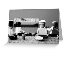 By the Marne River Greeting Card