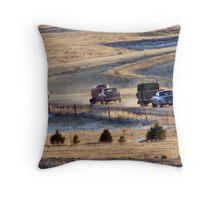 Convoy Home Throw Pillow