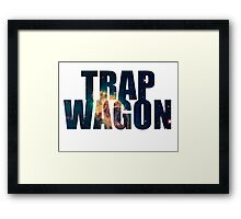 Trap Wagon Galaxy Framed Print