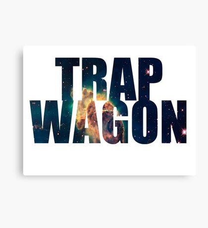 Trap Wagon Galaxy Canvas Print