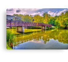 Bridge & Reflections Canvas Print