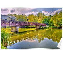 Bridge & Reflections Poster