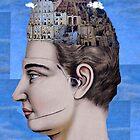 babel head by Loui  Jover