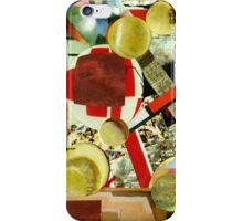 Playing Ping Pong. iPhone Case/Skin