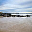 Newcastle Beach, NSW Australia by Melina Roberts