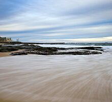 Newcastle Beach, NSW Australia by Melina Roberts