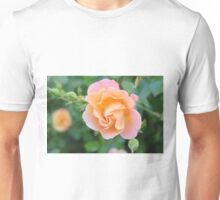 Peaches and Cream Floral Unisex T-Shirt
