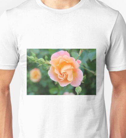 Peaches and Cream Floral Unisex T-Shirt