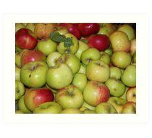 Apple Pile Art Print