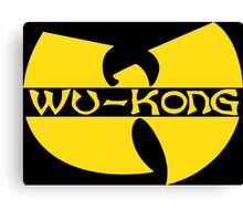 Wukong Top Ain't Nuttin' to **** Wit! Canvas Print