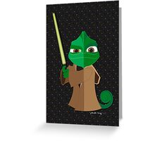 Origami - Master Pascal Greeting Card