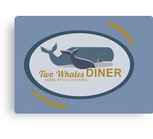 Two Whales Diner Tourist Shirt - Episode 2 Canvas Print