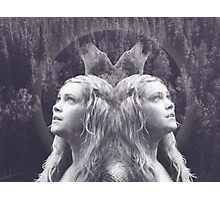 Clarke from The100+ Wolves+ forest Photographic Print