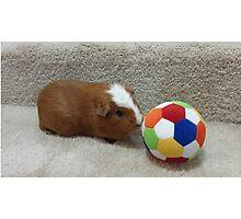 Mocha & Soccer! Photographic Print