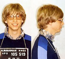 Bill Gates Mugshot by addyreck