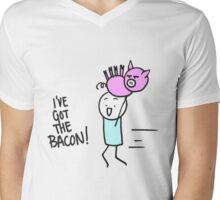 I've Got the Bacon! Mens V-Neck T-Shirt