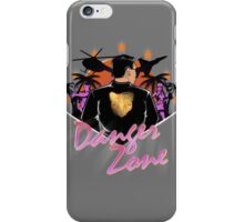DRIVE TO THE DANGER ZONE iPhone Case/Skin