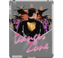 DRIVE TO THE DANGER ZONE iPad Case/Skin
