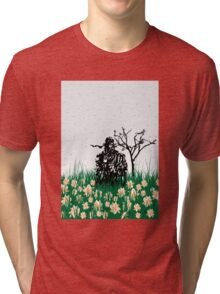 The end of Joy  (MGS3) Tri-blend T-Shirt