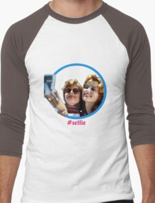 Thelma and Louise selfie - Susan Sarandon & Geena Davis Men's Baseball ¾ T-Shirt
