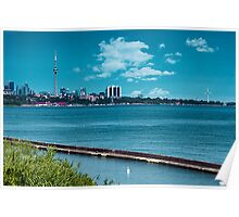 Lake view of Toronto Poster